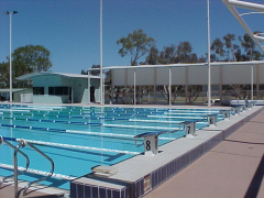 Trinity College Water Polo Pool