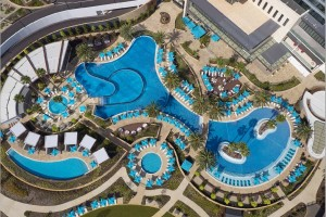 Crown Tower Swimming Pool areas